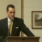 Corridor Director Brent WIllett, silent on Corridor budget and expenditures