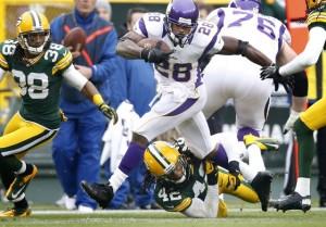 Minnesota Vikings running back Adrian Peterson (28)