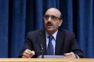 Amb. Masood Khan of Pakistan, President of the Security Council for the month of January 2013. UN Photo/JC McIlwaine