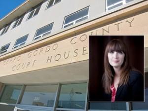 Cerro Gordo County Courthouse INSET: City Assessor Dana Naumann