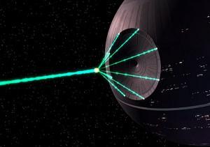 Death Star, an iconic Star Wars location