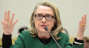 Secretary of State Hillary Clinton testifies during a House Foreign Relations Committee hearing on the terrorist attack on a U.S. diplomatic facility in Benghazi, Libya, on Capitol Hill in Washington, D.C. on January 23, 2013.  UPI/Kevin Dietsch