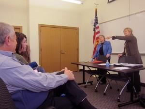 Senator Amanda Ragan and Rep. Sharon Steckman describe how Mason City's Human Rights agency should be kept intact.