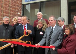 Congressman King at the Grand Opening of the Mason City office in the Fourth District
