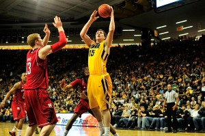 Another easy Hawkeye basket against the Cornhuskers