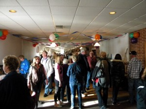 Many family and friends showed for the benefit for Linda