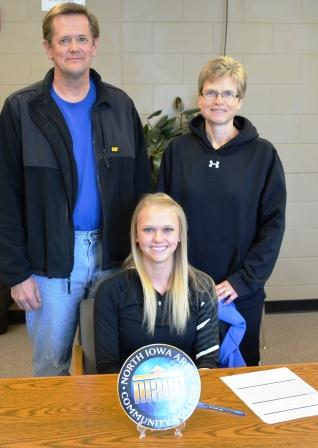 Carly Ouverson signs