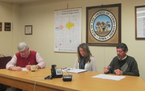 Cerro Gordo County Supervisors, March 12th, 2013.  Jay Urdahl absent.