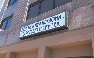 North Iowa Commerce Center.  $1.5 million in state taxpayers funds helped remodel this building, home to two exclusive clubs: The Chamber of Commerce and the North Iowa Corridor.