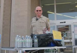 Cerro Gordo County Sheriff's were taking unused prescriptions at Walgreen's Saturday, April 27th, 2013