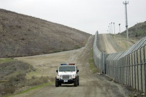 A United States Border Patrol vehicle (UPI Photo/Earl Cryer)