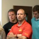 Mohawk football coach Justin Penner