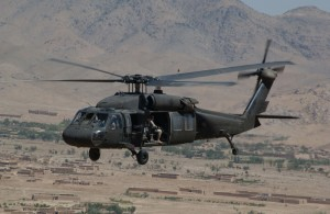 U.S. military attack helicopter