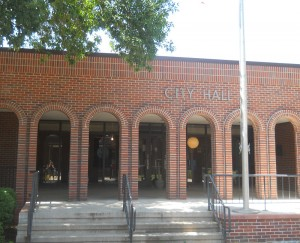 City Hall in Charles City