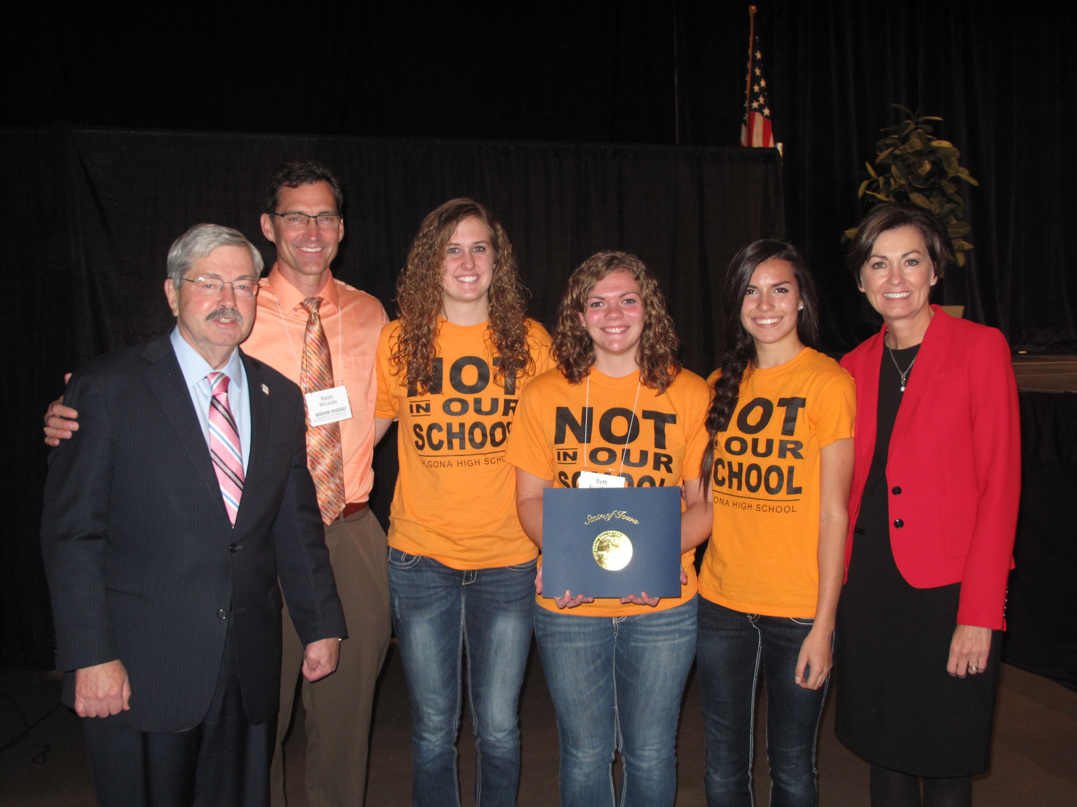 Governor's Bullying Prevention Summit video contest winners