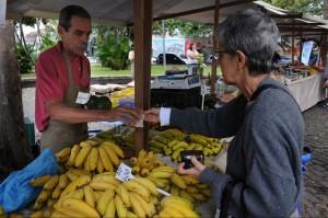 Buying food at a market in São José, Rio de Janeiro, Brazil. Photo: FAO/Giuseppe Bizzarri