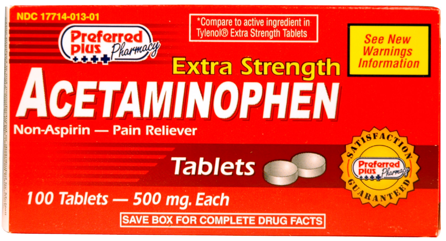 fda warns of liver damage from doses of acetaminophen greater than