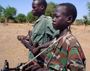 Child soldiers (file photo). Photo: Gabriel Galwak/IRIN