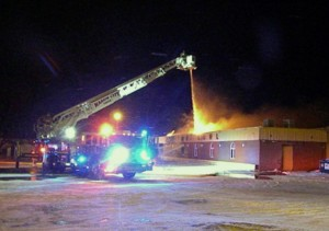 MCFD battles Rose Bowl blaze