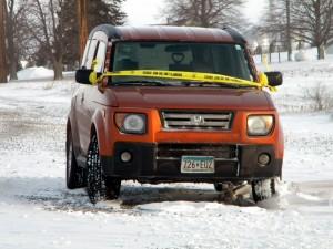 Minnesota tagged vehicle on Mallard