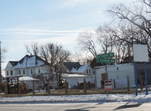 Daley Plumbing under construction in Mason City