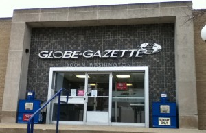 Globe Gazette, owned by Lee Enterprises.  Who has confidence in this place?