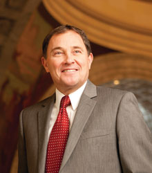 Utah Governor Gary Richard Herbert