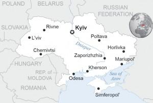 Ukraine Source: OCHA/ReliefWeb