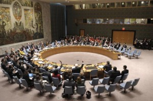 Security Council meeting on the situation in Ukraine. UN Photo/Eskinder Debebe