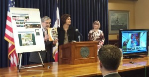 Branstad and Reynolds introduce ad campaign