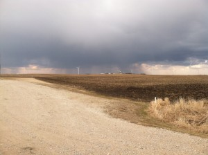 Not enough rain in Iowa (Submitted photo from NIT reader)