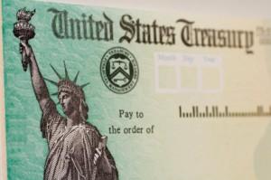 U.S. Treasury Check