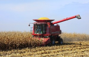 Iowa State University personnel are showing farmers ways to save money on fuel for machinery and other energy costs. Photo by Bob Elbert.