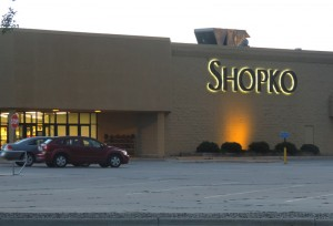 Shopko in Mason City, Iowa, a favorite shopping destination for many.