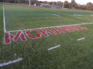 Mohawk field will host a powderpuff football game Sunday night and the big game Friday night.