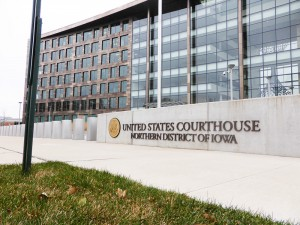 Federal courthouse, Northern District of Iowa in Cedar Rapids