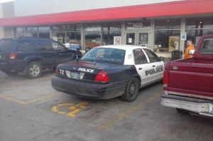 Photo posted to Cedar Rapids police social media, taken by a citizen (Facebook photo)
