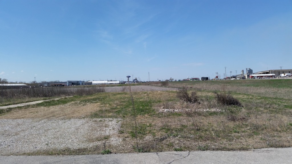 The site of the development, east side of Clear Lake