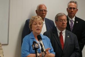 Senator Amanda Ragan of Mason City