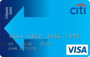 Citibank-Debit-Visa-Credit-Card