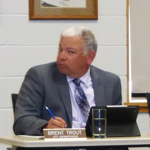 Brent Trout, once again in the face of a small business owner he disagrees with.
