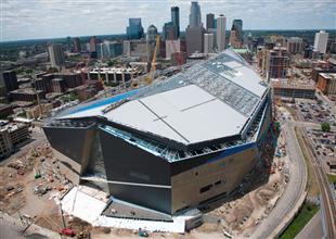 US Bank Stadium In Minneapolis (photo From Mortenson Construction)