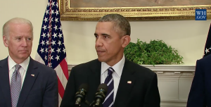 Obama at press conference today
