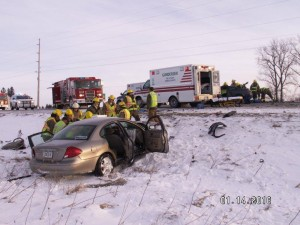 Fayette county sheriff's office photo from accident scene
