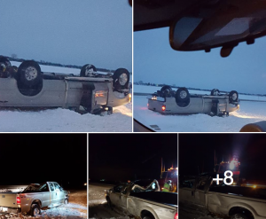 Publicly viewable photos of the accident, via Facebook