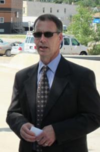 City Engineer Mark Rahm
