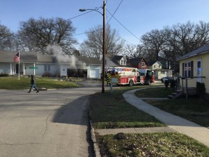 Emergency responders on the scene (Facebook photo)