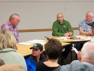 Town council tries to answer questions from citizens