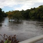 Flooding in Mason City's East Park
