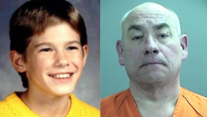 Jacob Wetterling and his killer, Danny James Heinrich